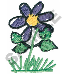 FLOWER embroidery design