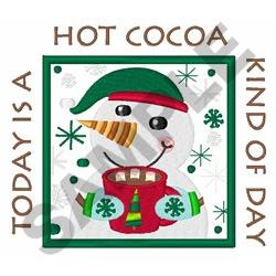 COCOA DAY APPLIQUE embroidery design