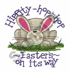 HOLIDAY BUNNY embroidery design