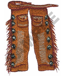 CHAPS embroidery design