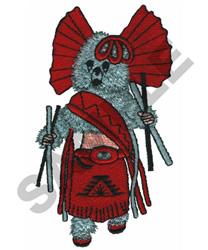 KACHINA DOLL embroidery design