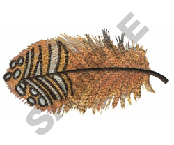 GROUSE FEATHER embroidery design
