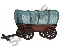 COVERED WAGON embroidery design