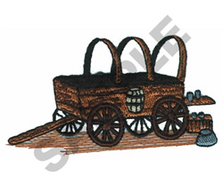 WAGON embroidery design
