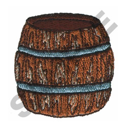 BARREL embroidery design