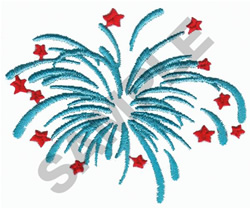 FIRE CRACKER embroidery design