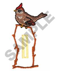 BIRD BUTTON HOLE embroidery design