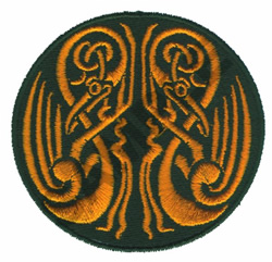CELTIC EMBLEM embroidery design