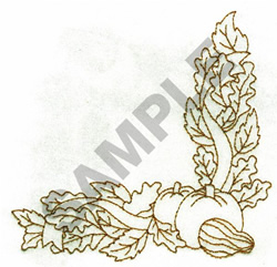 FALL BORDER embroidery design