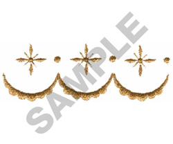 ELEGANT BORDER embroidery design