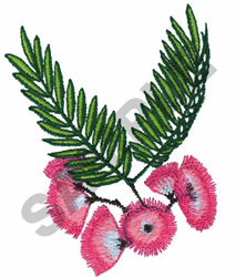 SILK TREE embroidery design