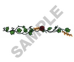 FLORAL HEIRLOOM BORDER embroidery design