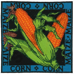 CORN embroidery design