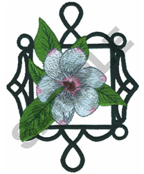 FLORAL IRONWORK embroidery design