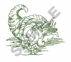 CORNUCOPIA TOILE embroidery design
