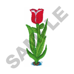 TULIP embroidery design
