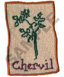 CHERVIL embroidery design