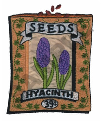 HYACINTH embroidery design