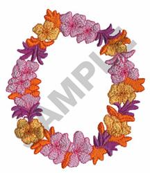 LEI embroidery design