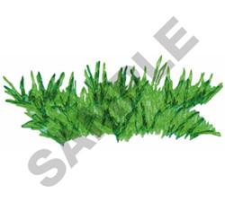 GRASS embroidery design