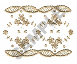 FLORAL LACE embroidery design