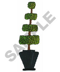 TOPIARY embroidery design