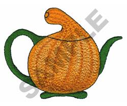 SQUASH TEAPOT embroidery design