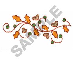 LEAF VINE embroidery design