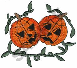 JACK-O-LANTERNS embroidery design