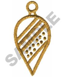 METALLIC ORNAMENT embroidery design