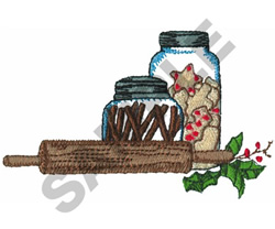 CHRISTMAS BAKING embroidery design