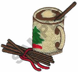 CINNAMON & COCOA embroidery design