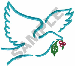 DOVE embroidery design