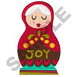 Christmas Doll embroidery design