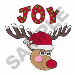 Reindeer Joy embroidery design