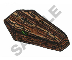 COFFIN embroidery design
