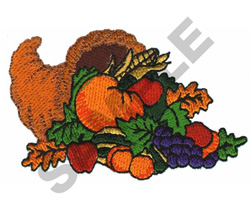 CORNUCOPIA embroidery design