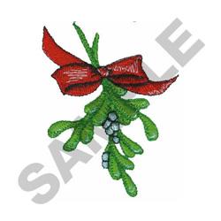 MISTLETOE embroidery design