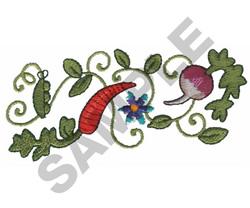 GARDEN BORDER embroidery design