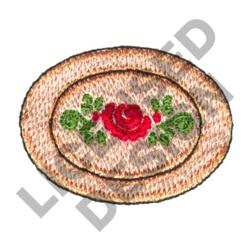 DECORATIVE PLATTER embroidery design