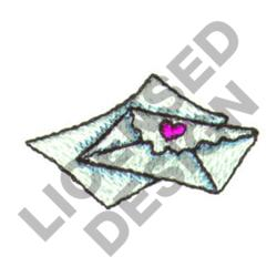 ENVELOPES embroidery design