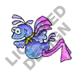 FLYING MONSTER embroidery design