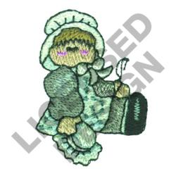 QUILTING DOLL embroidery design