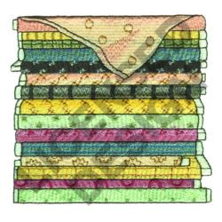BOLTS OF FABRIC embroidery design