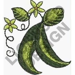 PEA PODS embroidery design
