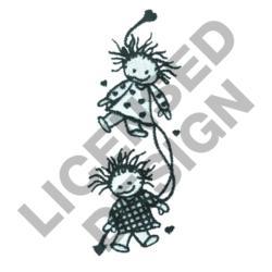 FRIENDS BORDER embroidery design