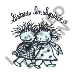 SISTERS IN SPIRIT embroidery design