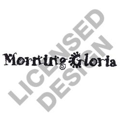 MORNING GLORIA embroidery design