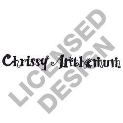 CHRISSY ANTHEMUM embroidery design