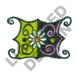 FLORAL MEDALLION embroidery design